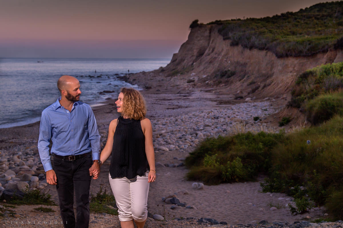 Montauk Sunset marriage proposal