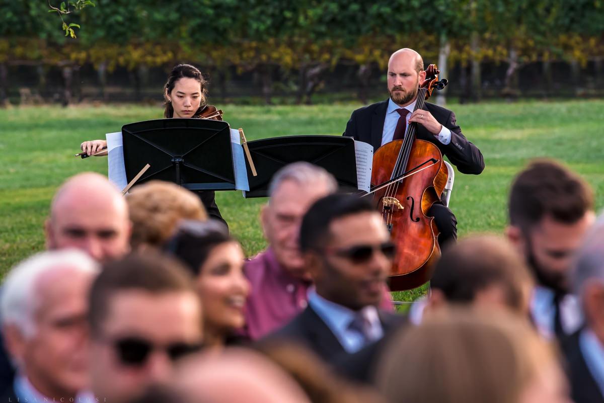 Wedding ceremony musicians