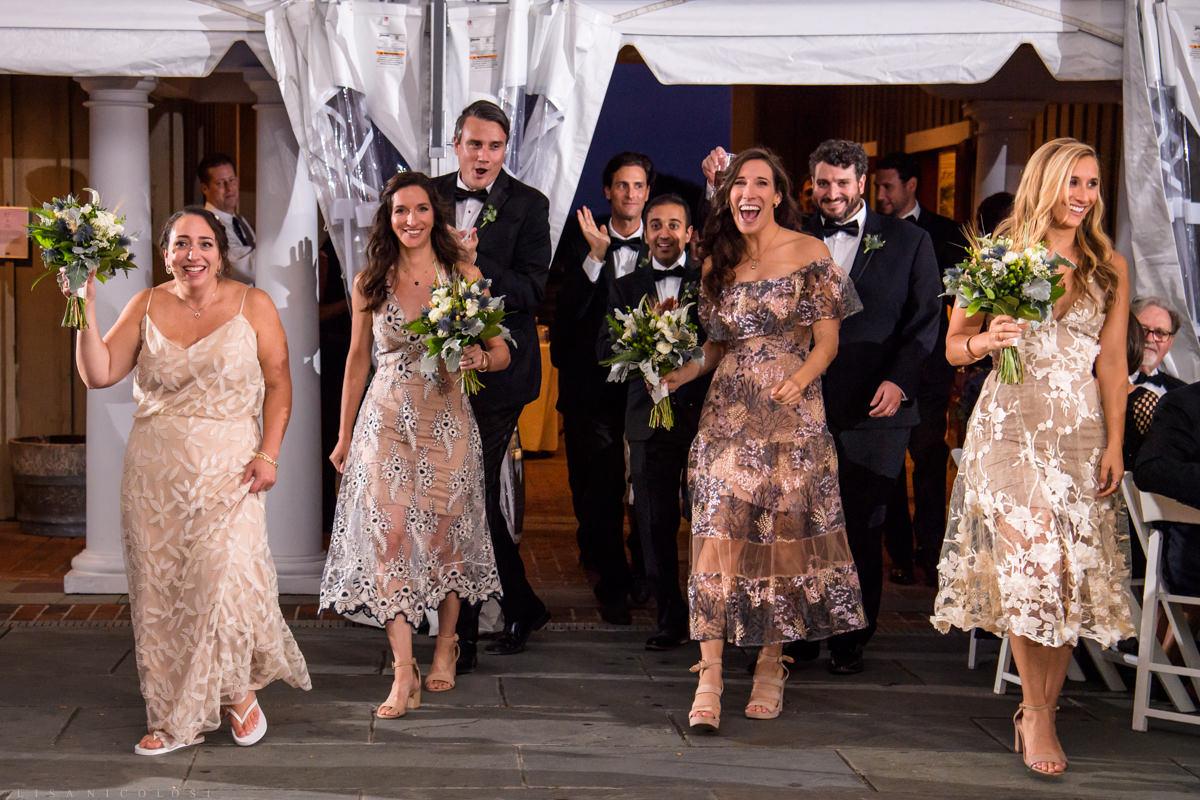 Wedding reception at Pellegrini Vineyards in Cutchogue NY