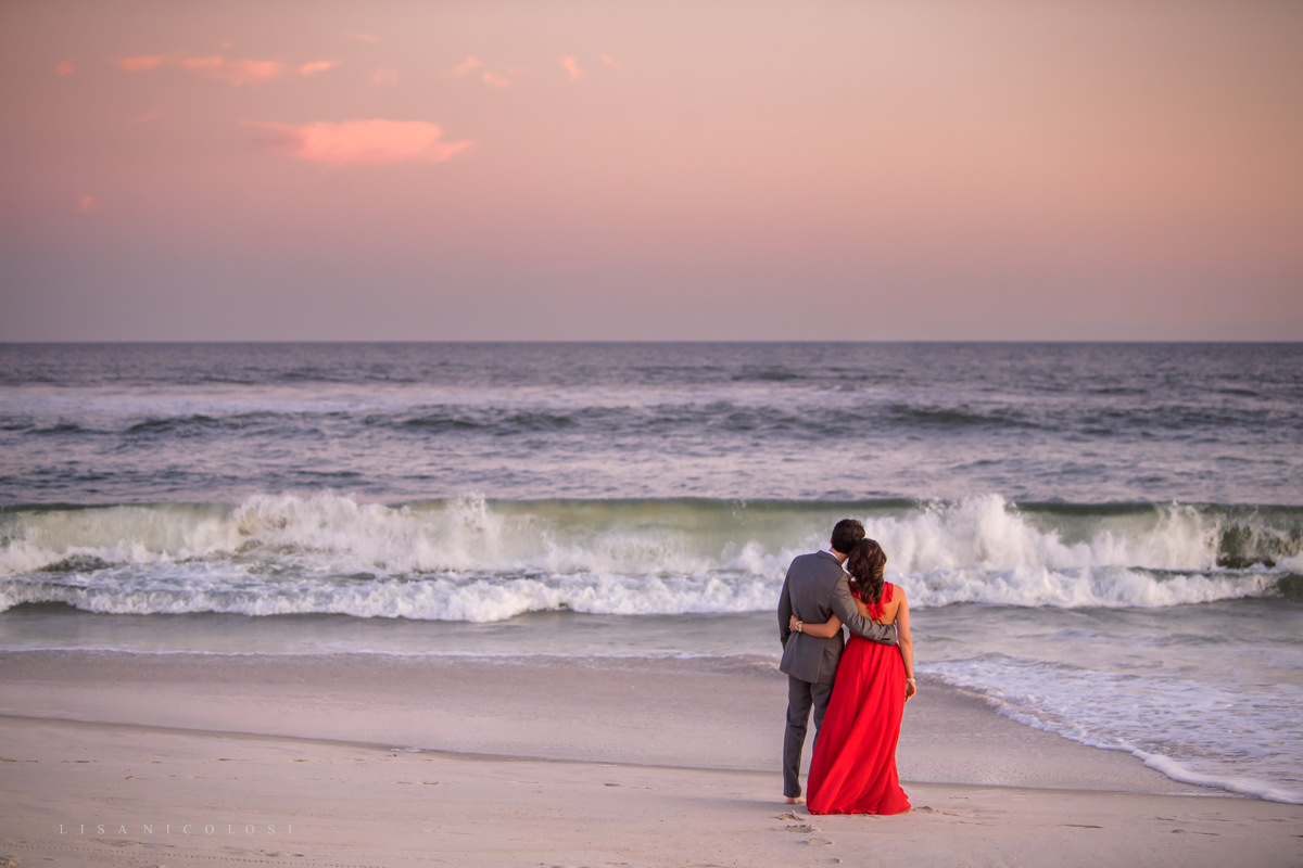 Fire Island Engagement Session - Ocean Beach Engagement Portraits