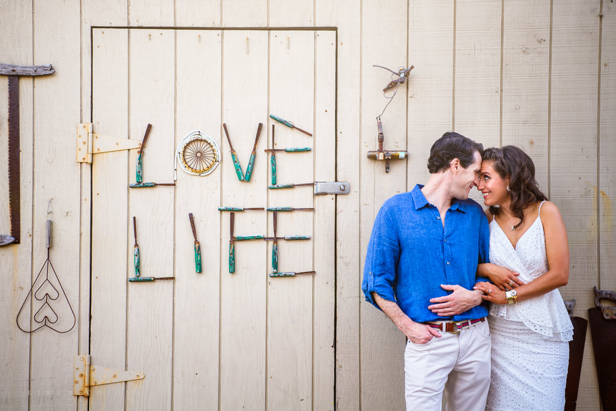Fire Island Engagement Session - Village of Ocean Beach - fun engagement photos