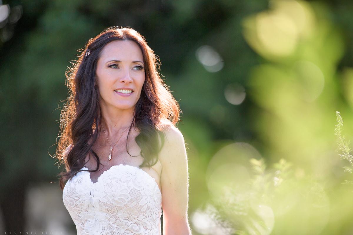 Jamesport Manor Inn Wedding - Bridal portrait
