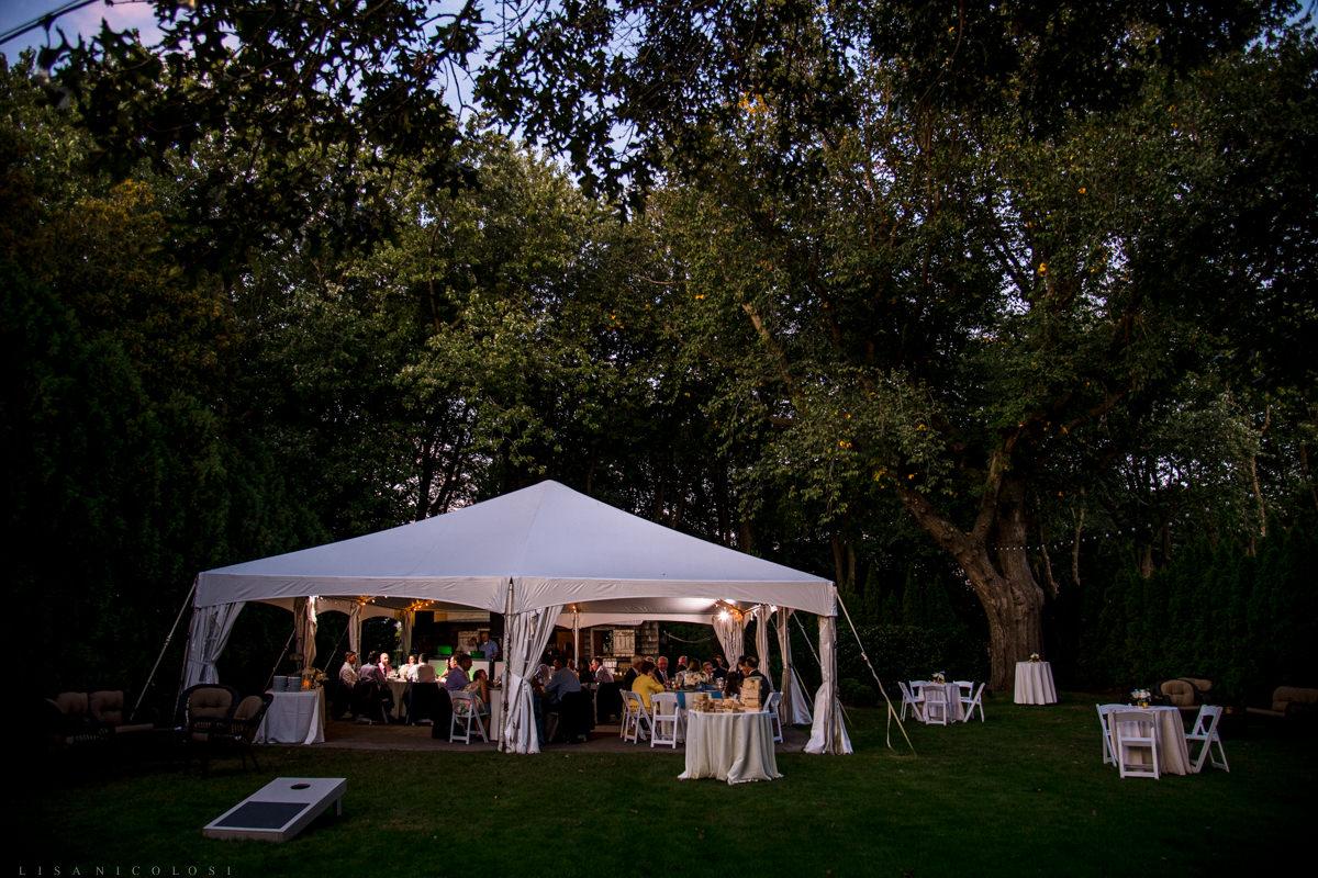 Wedding reception at Jamesport Manor Inn