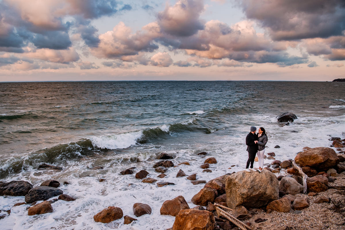 Greenport Engagement and Proposal Photographer