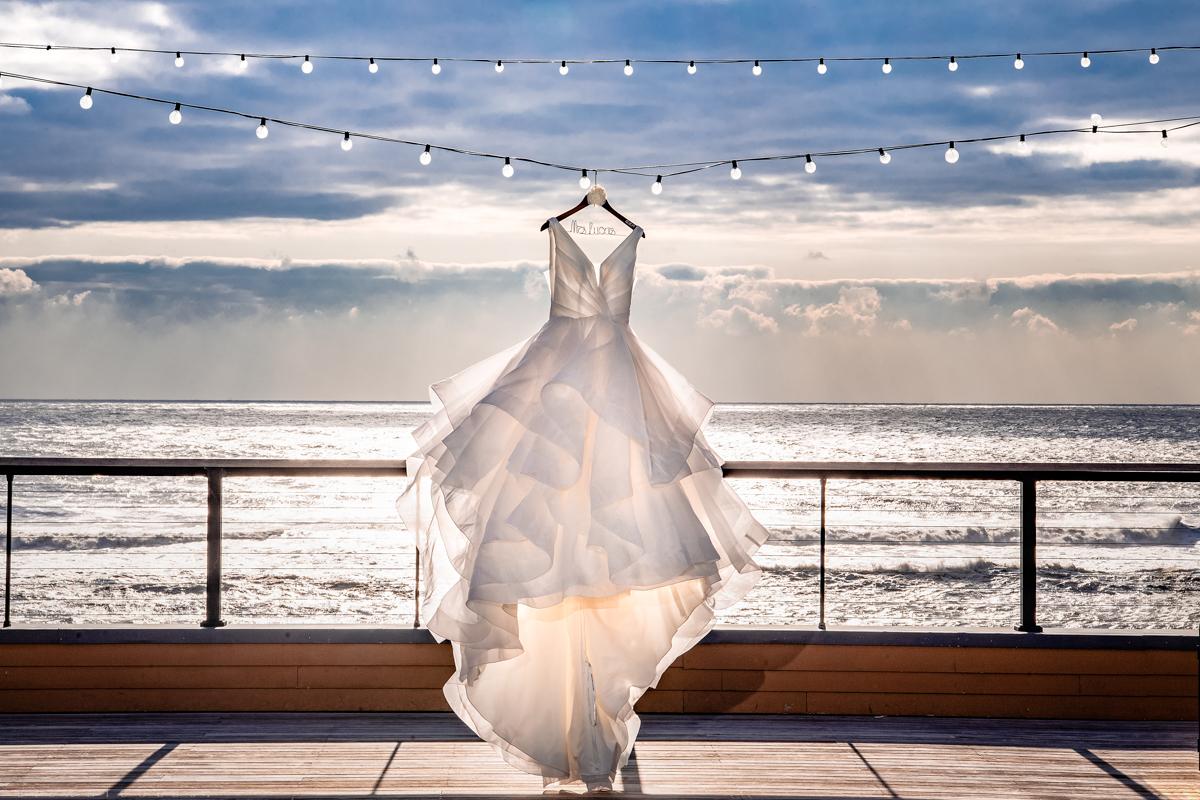 Gurney's Resort Wedding Photographer - Wedding Gown