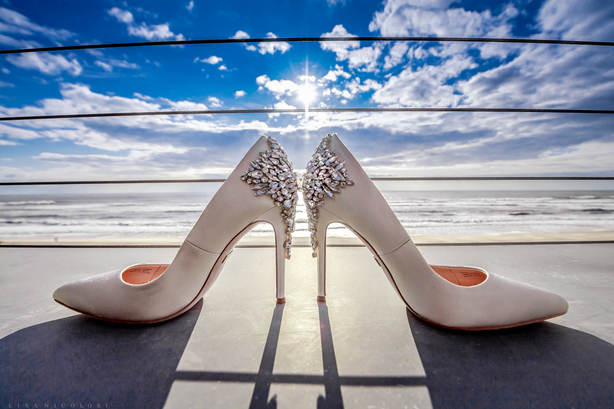 Gurney's Resort Wedding Photographer - Shoes