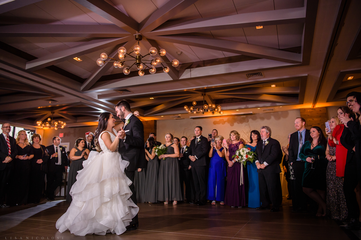 Gurney's Resort Wedding Photographer - Bride and Groom first Dance