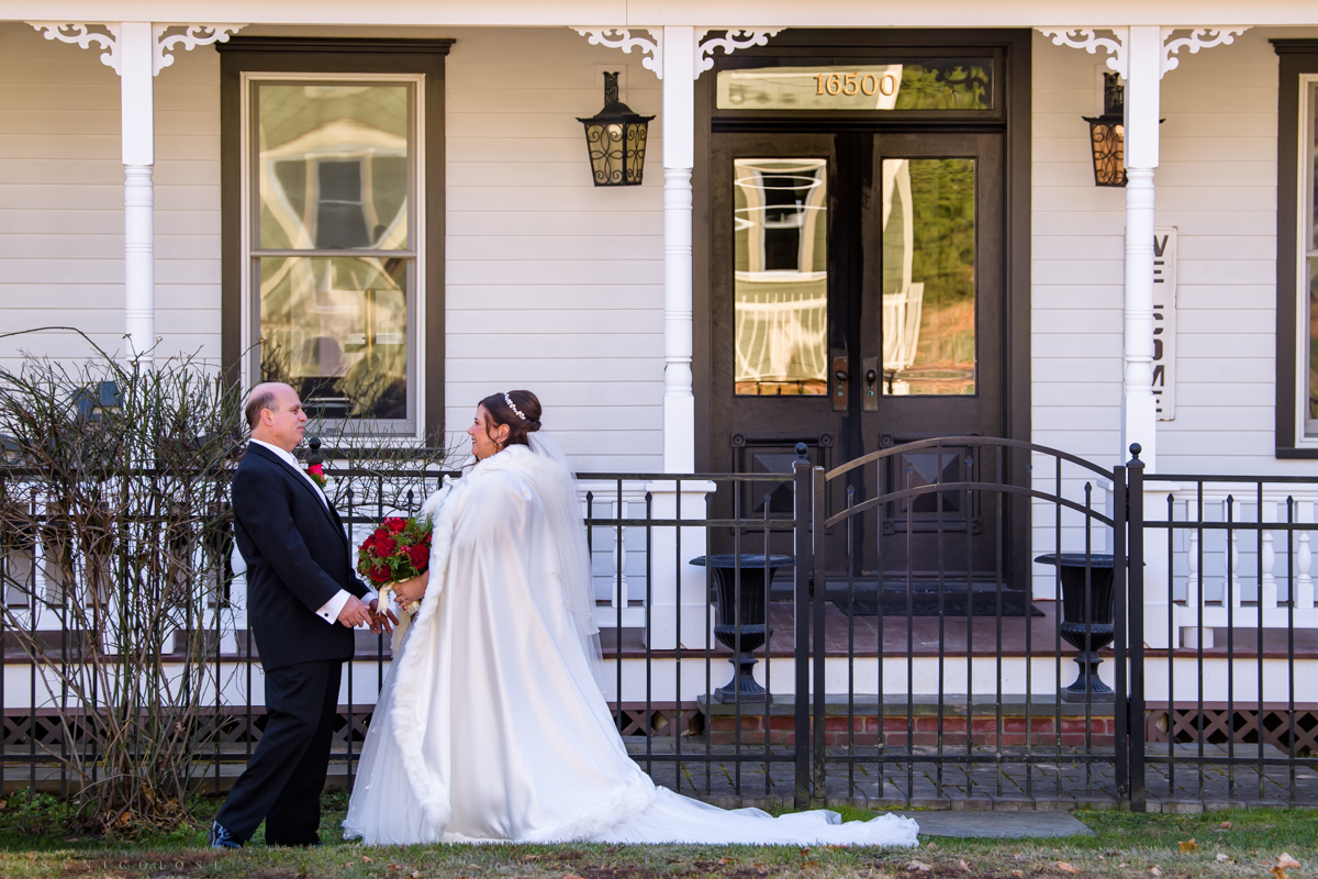 Bride and groom portraits at The Whitecap - - North Fork Wedding Photographer