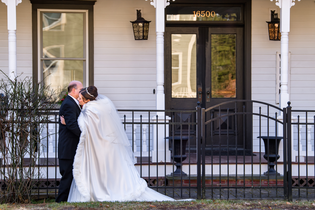 Bride and Groom portraits at The Whitecap - North Fork Wedding Photographer