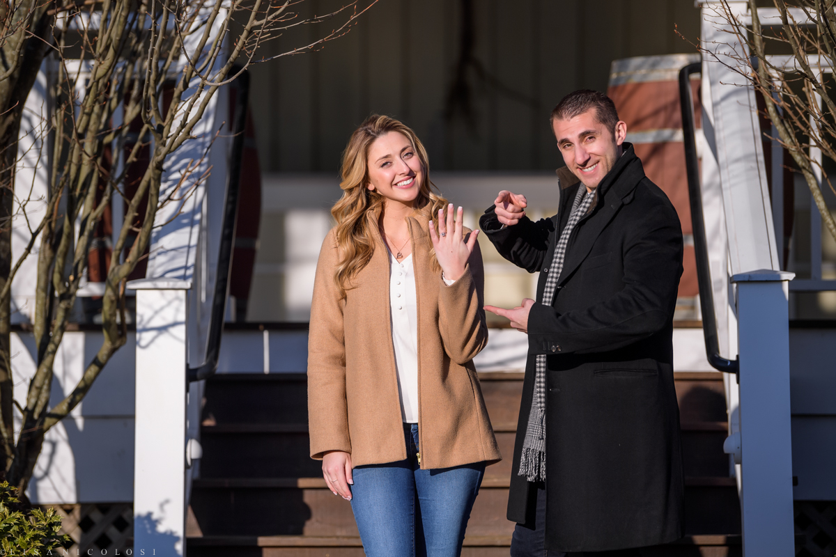 Bedell Cellars Engagement photos
