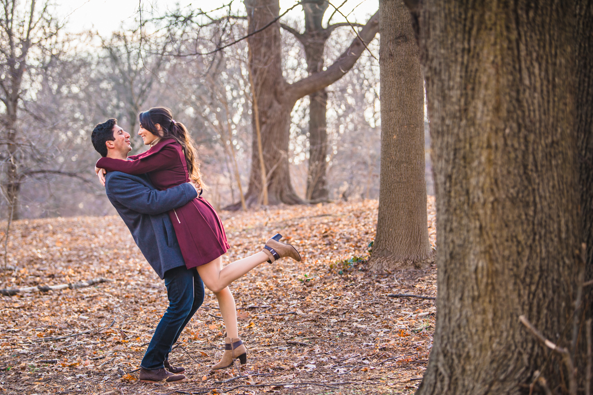 Prospect Park Engagement Session
