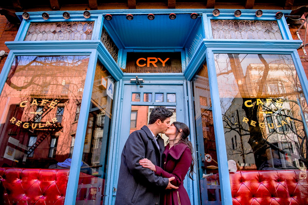Fun Park Slope Brooklyn Engagement Photos - Brooklyn Wedding Photographer