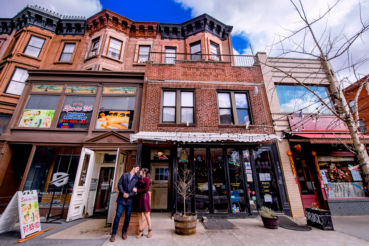 Park Slope Brooklyn Engagement Photos - Brooklyn Wedding Photographer