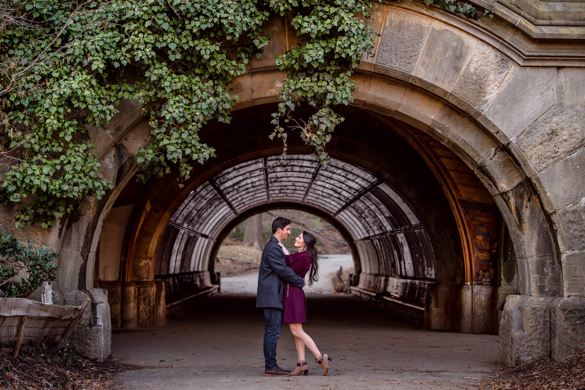 Prospect Park Engagement Photographer
