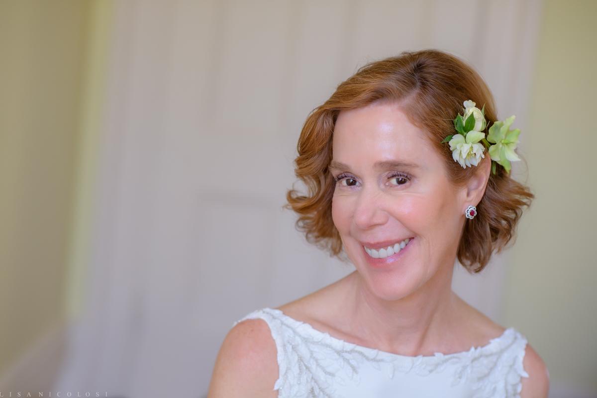 Brecknock Hall Wedding - Bride portrait