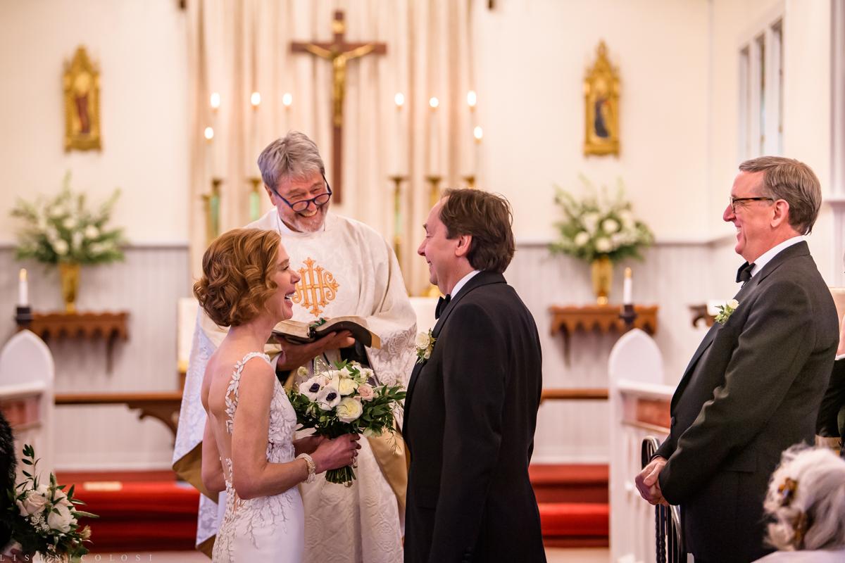 North Fork Wedding at Holy Trinity Episcopal Church - Wedding Ceremony