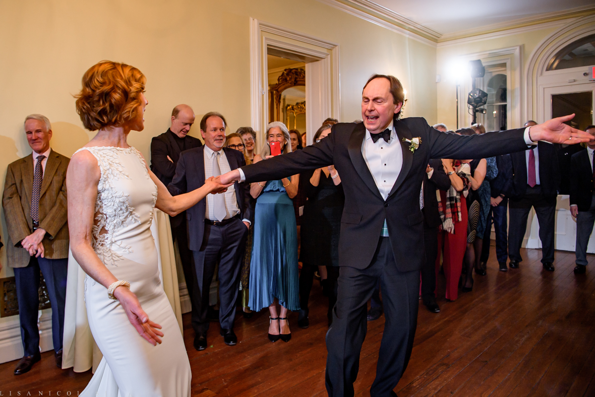 Brecknock Hall wedding - Wedding reception - Bride and groom's first dance