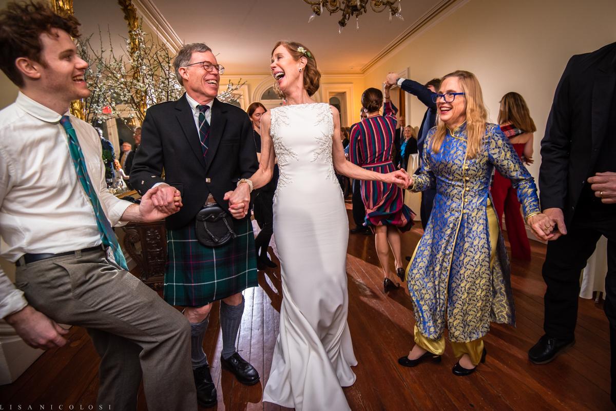 Fun Brecknock Hall wedding - Wedding reception