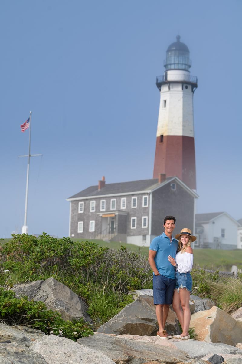 Montauk Proposal Photographer - Montauk Lighthouse