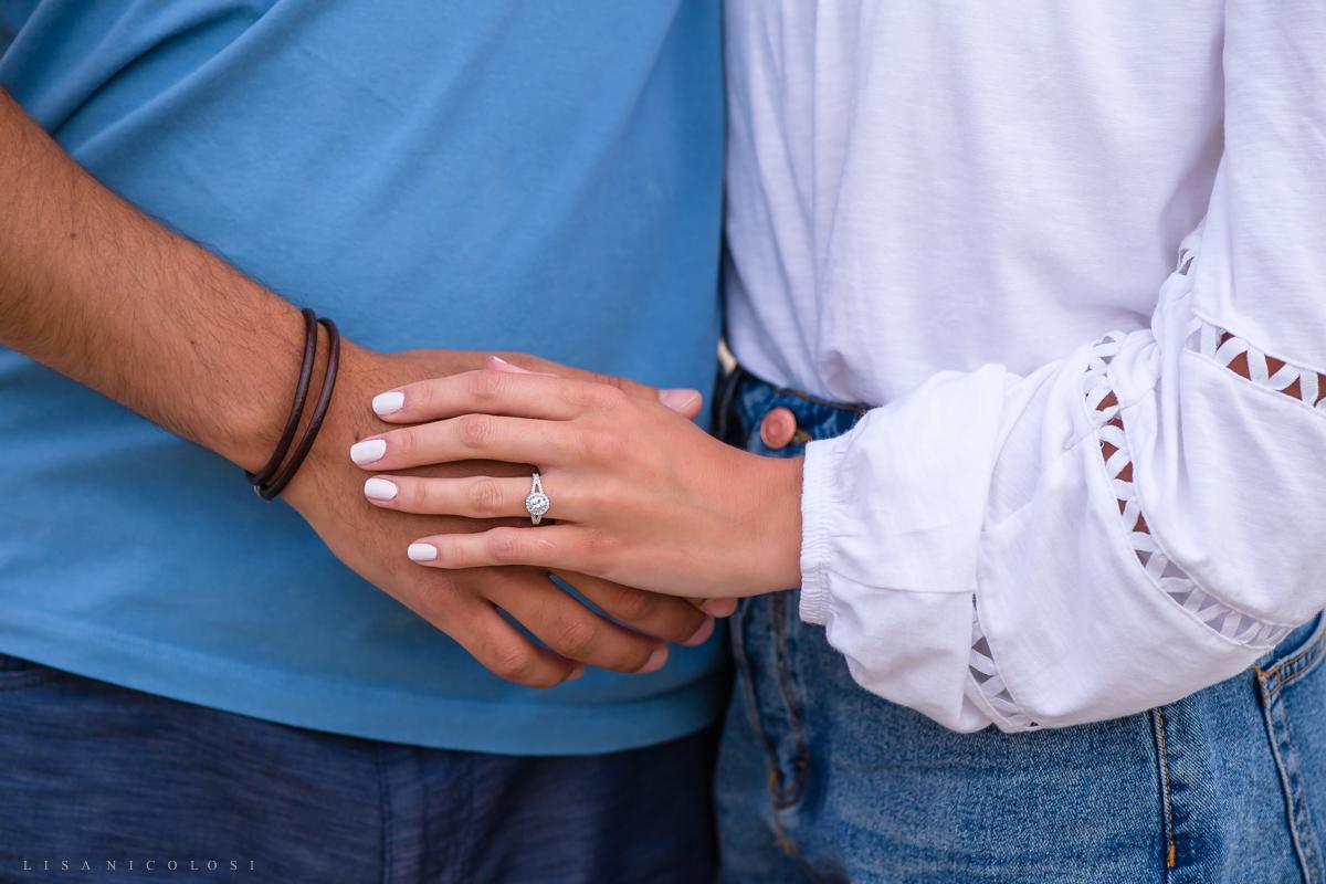 Montauk Proposal Photographer - Romantic couple portraits