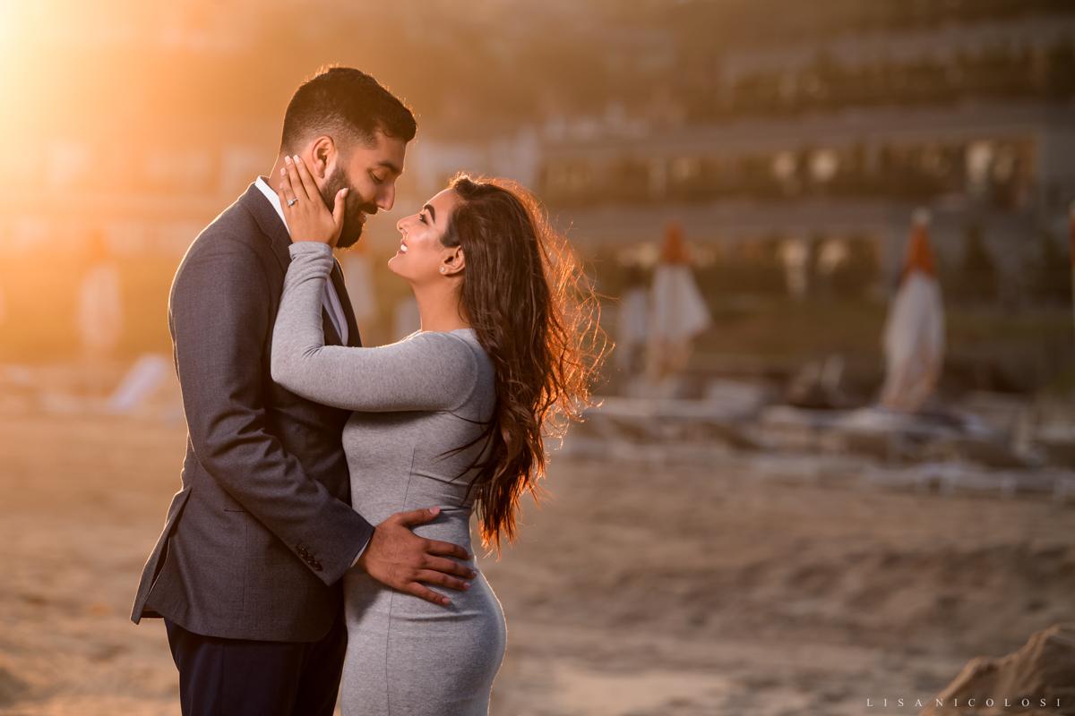 Gurney's Proposal Photographer- Couple hugging