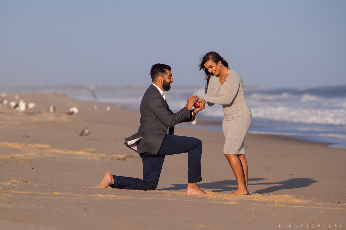 Surprise Montauk Marriage Proposal at Gurney's Resort - Engagement